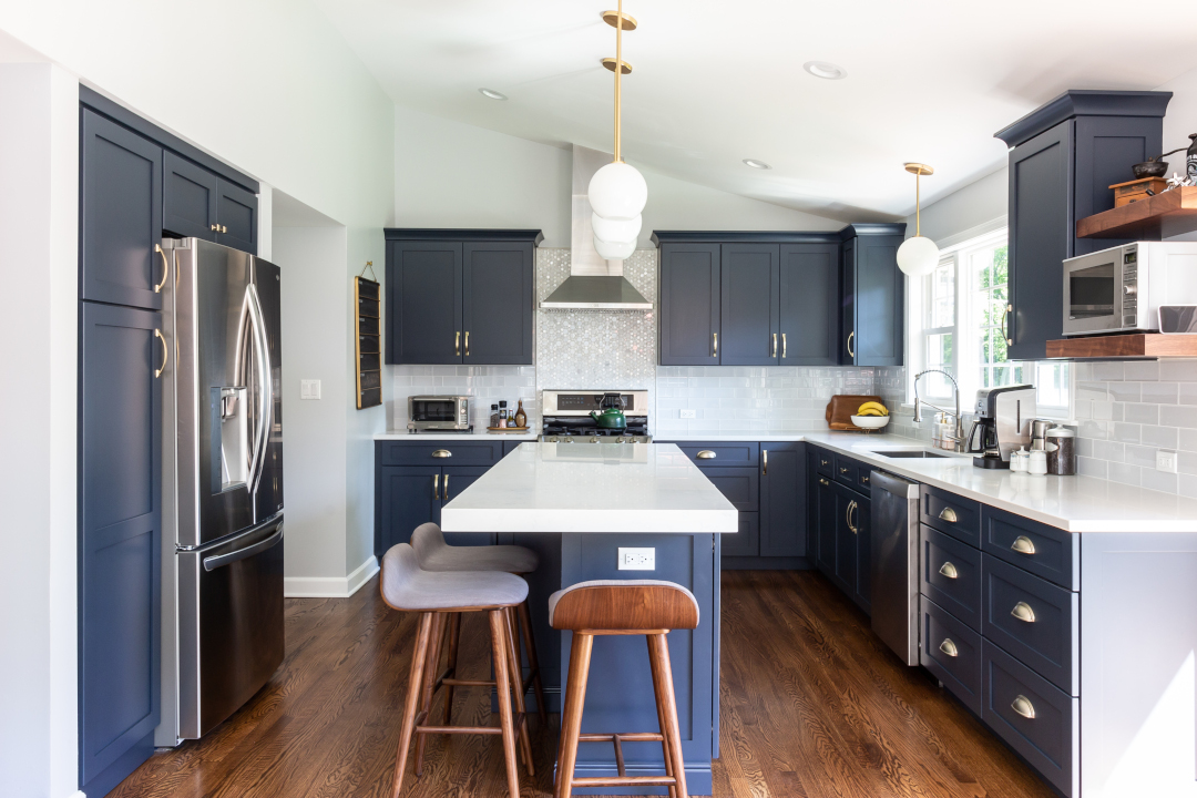 Design Trend Blue Kitchen Cabinets