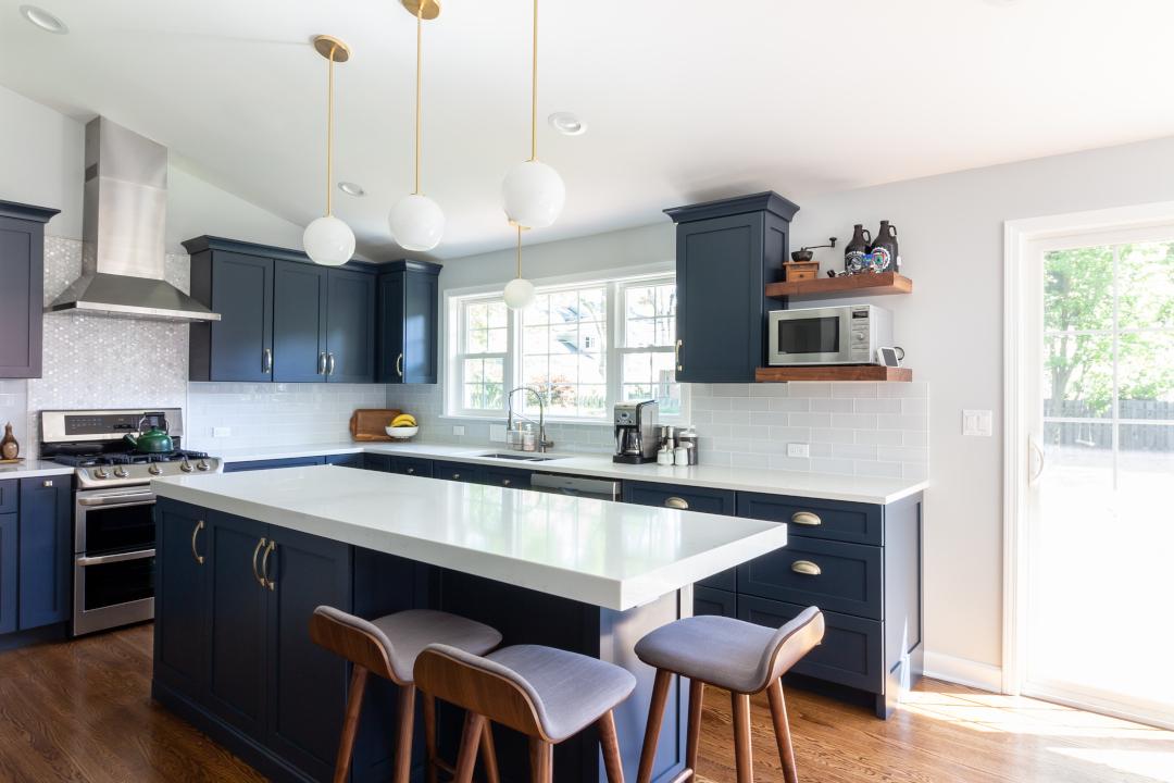 Design Trend: Blue Kitchen Cabinets