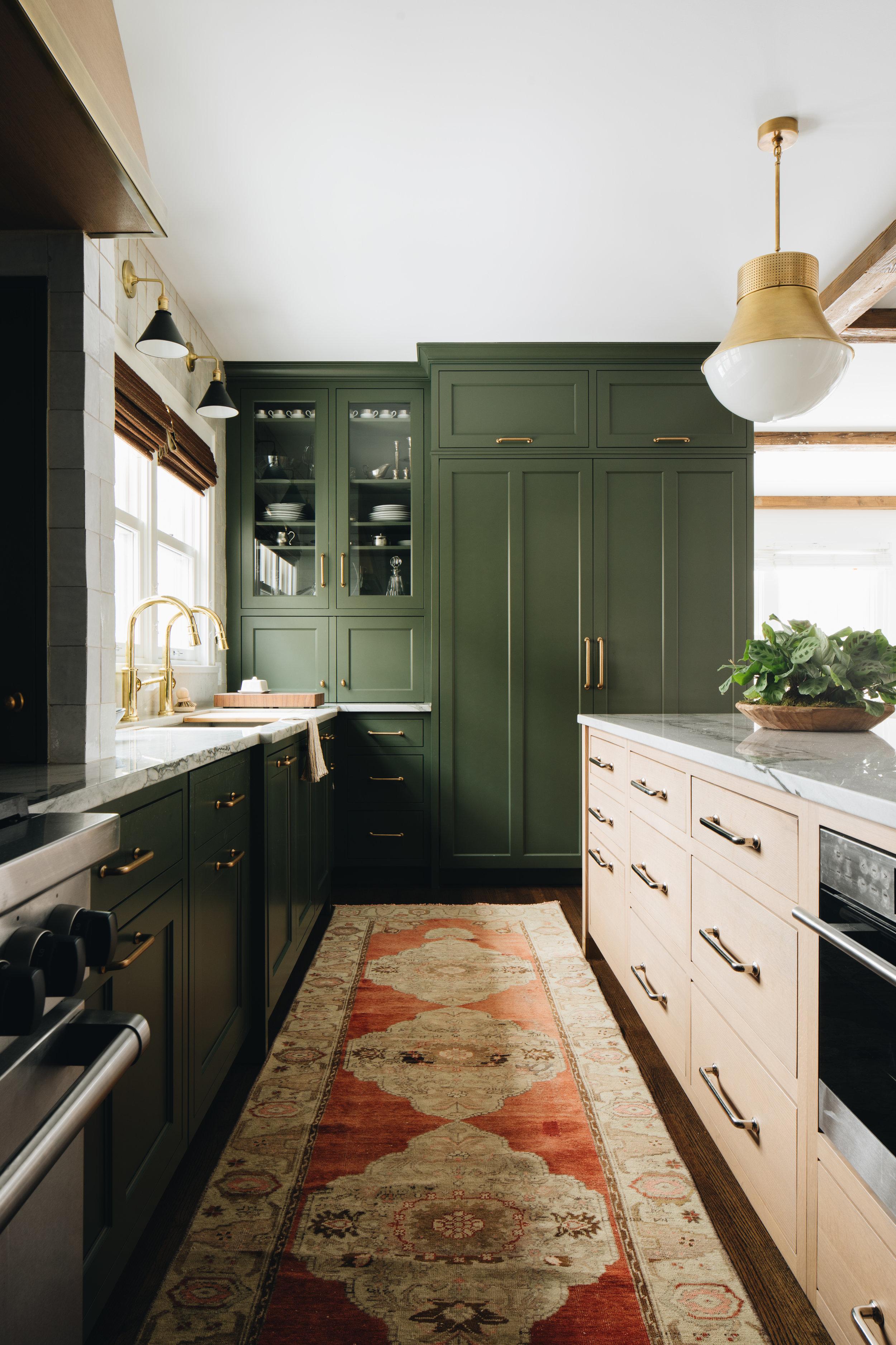Design Trend: Green Kitchen Cabinets