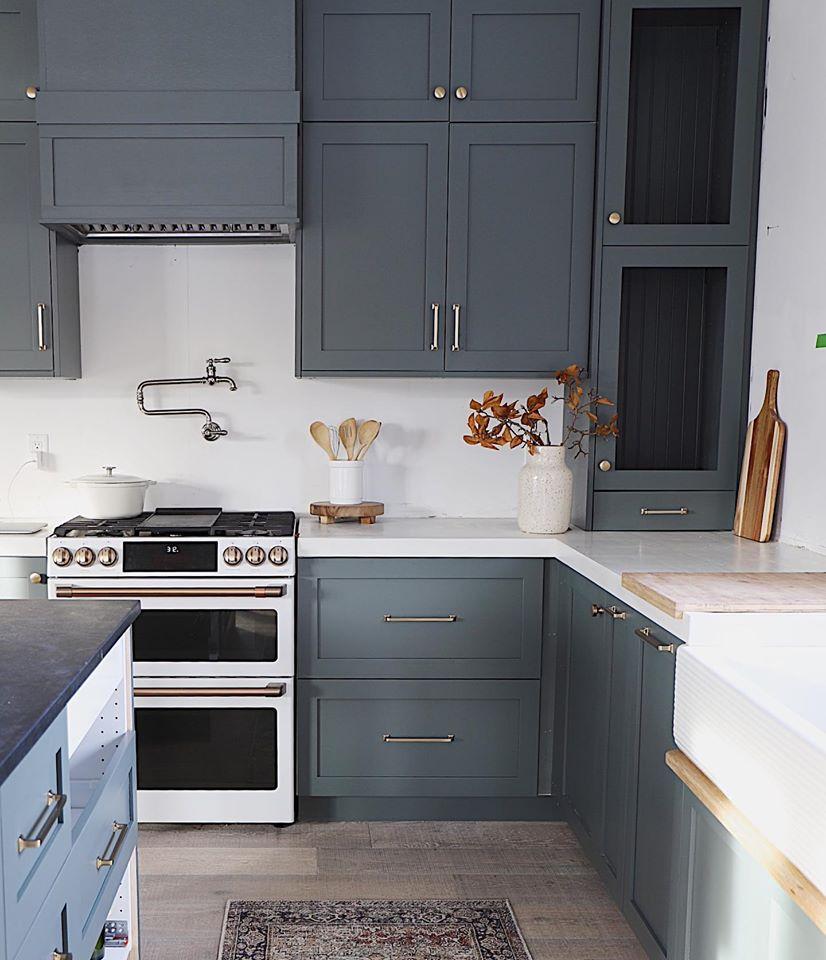 Design Trend Green Kitchen Cabinets